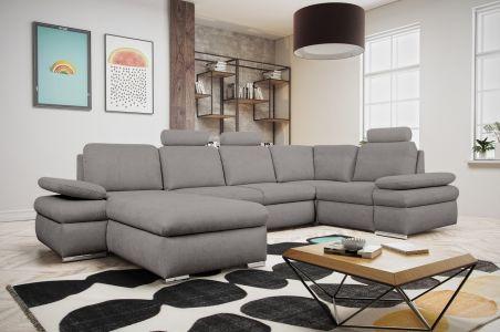U-образный диван - Margo I (Pаскладной с ящиком для белья)