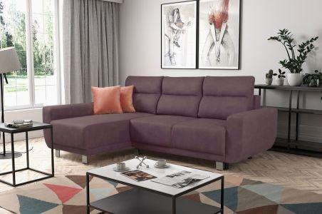 Угловый диван - Amare (Pаскладной с ящиком для белья)