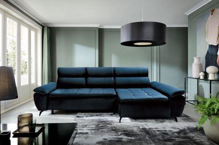 Угловый диван - Faro (Pаскладной с ящиком для белья)