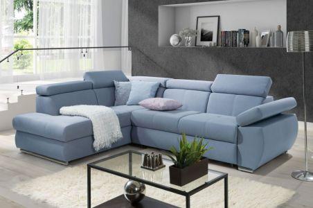 Угловый диван - Lizbona II (Pаскладной с ящиком для белья)