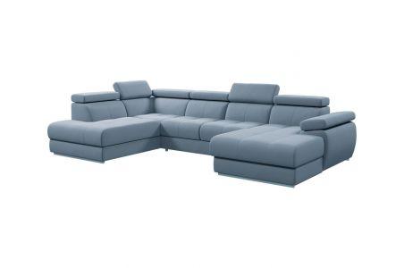 U-образный диван - Lizbona III (Pаскладной с ящиком для белья)