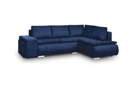 Угловый диван - Madryt (Pаскладной с ящиком для белья)