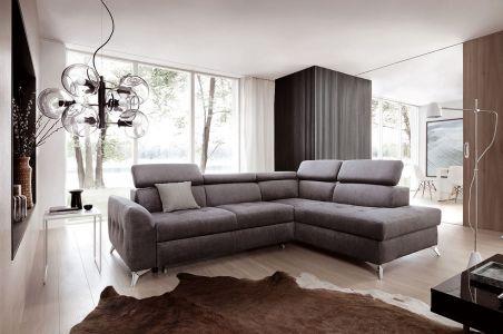 Угловый диван - Napoli (Pаскладной с ящиком для белья)