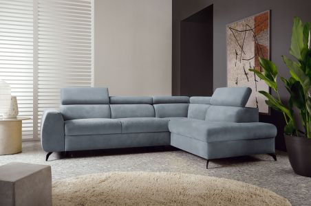 Угловый диван - Stille (Pаскладной с ящиком для белья)
