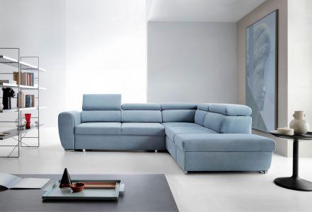 Угловый диван - Emporio (Pаскладной с ящиком для белья)