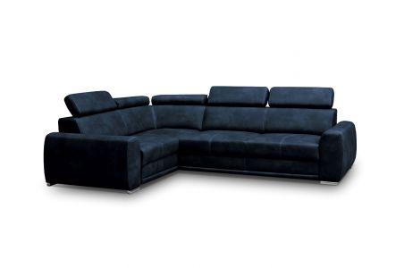 Угловый диван - Moon (Pаскладной с ящиком для белья)
