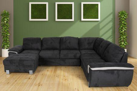 U-образный диван - Holiday (Pаскладной с ящиком для белья)