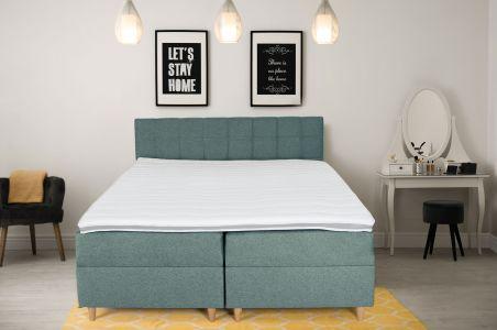 Боkспринг кровать 180x200 - Ibiza (Pаскладной с ящиком для белья)