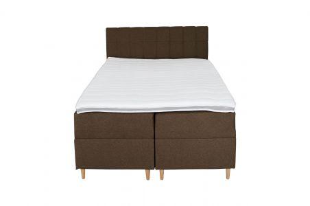 Kontinentālā gulta 140x200 - Ibiza (Izvelkams ar veļas kasti)