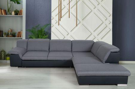 Угловый диван ХL - Orion (Pаскладной с ящиком для белья)