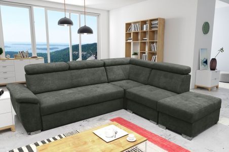 Corner sofa XL - Theo (Pull-out with laundry compartment)