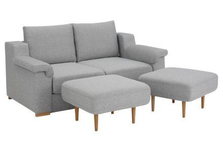 Двухместный диван - Tiny (Pаскладной с ящиком для белья)