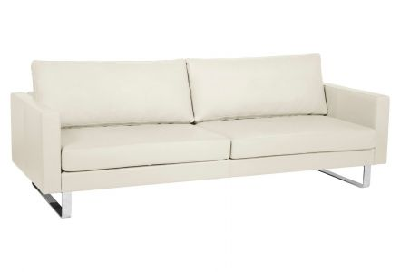 Leather 3 seat sofa - Portobello