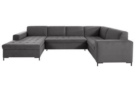 U shape sofa - Grazzo (Pull-out with laundry compartment)