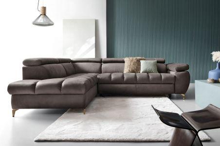 Угловый диван - Lugano (Pаскладной с ящиком для белья)