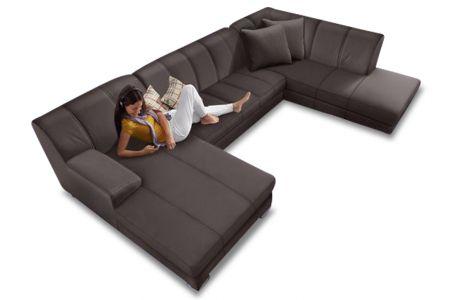 U formas dīvāns - Emily (Izvelkams)