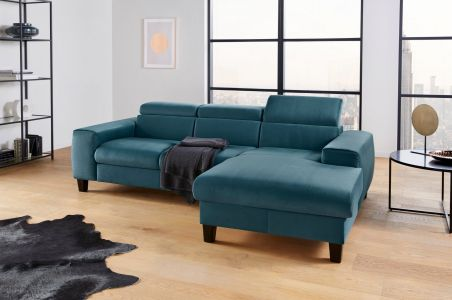 Corner sofa - Morven (Pull-out with laundry compartment)