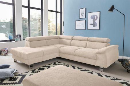 Stura divans ar labu audumu kapucino krasa