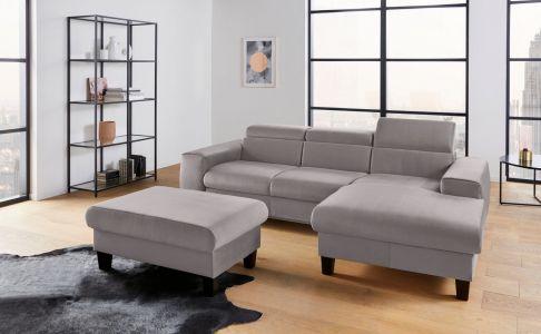 Morven stūra dīvāns pelēks