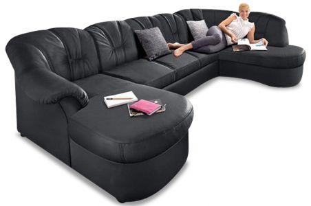 U-образный диван - Flores (Pаскладной)