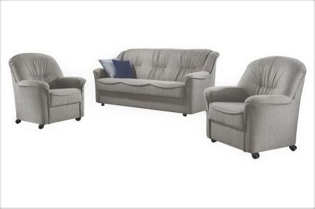 Комплект диванов 3-1-1 - Luisa (Pаскладной с ящиком для белья)