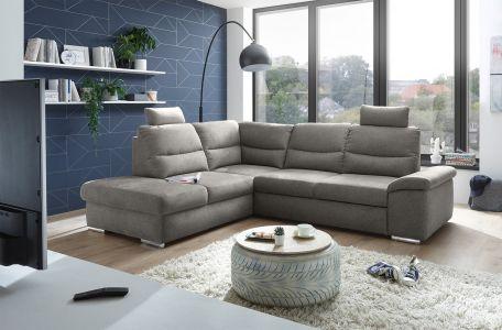 Угловый диван ХL - Alma (Pаскладной с ящиком для белья)