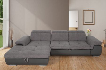 Corner sofa - Andy 2 (Pull-out with laundry compartment)