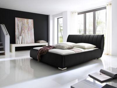 Kровать с обивкой 180x200 - Bern (с ящиком для белья)