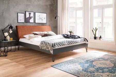 Upholstered bed - Boston Vintage