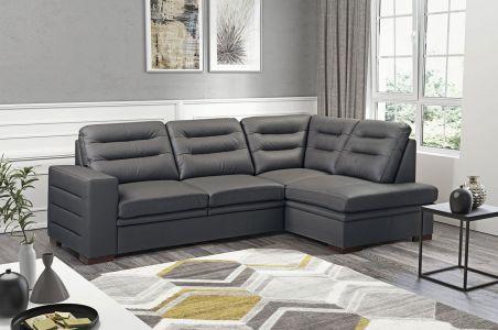 Stūra dīvāns XL - Caro (Izvelkams ar veļas kasti)