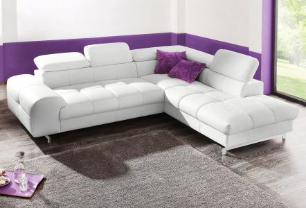 Krēma krāsas stūra dīvāns