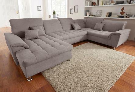 U-образный диван - Franzi U (Pаскладной с ящиком для белья)