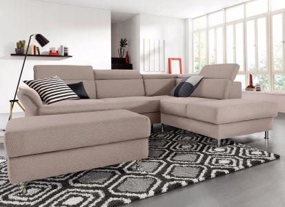 Stūra dīvāns brūns ar labu audumu
