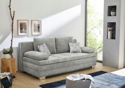 Dīvāns - gulta - Lincoln (Izvelkams ar veļas kasti)