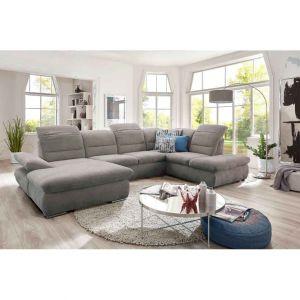 U-образный диван - Saragossa (с ящиком для белья)