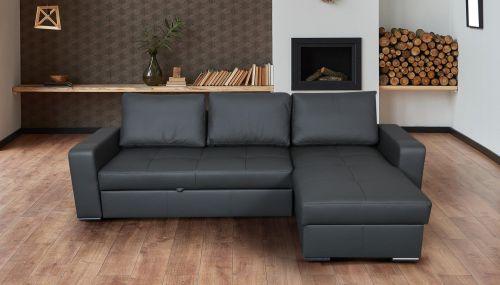 Угловый диван - Flores (Pаскладной с ящиком для белья)