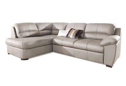 Stūra dīvāns XL - Dani ar pufu (Izvelkams ar veļas kasti)
