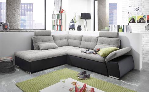 Stūra dīvāns izvelkams