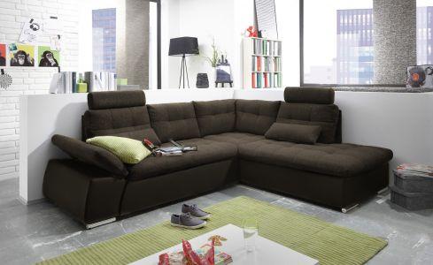 Brūns dīvāns