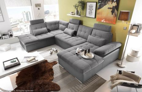 U shape sofa - Jakarta (Pull-out with laundry compartment)