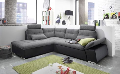 Угловый диван ХL - Jakarta (Pаскладной с ящиком для белья)