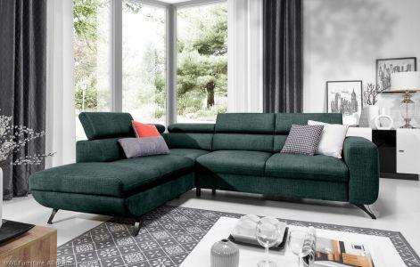 Угловый диван ХL - Arratta (Pаскладной с ящиком для белья)