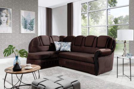 Угловый диван - Lord (Pаскладной с ящиком для белья)