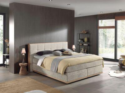 Tumši pelēka gulta