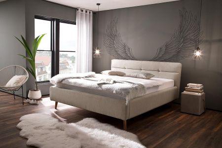 Kровать с обивкой  160x200 - Lotte (с ящиком для белья)