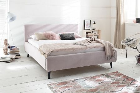Upholstered bed - Luana