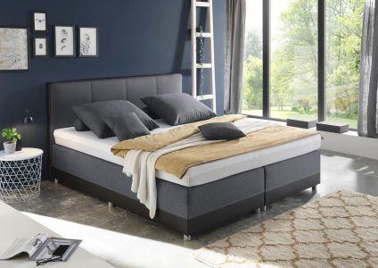 Kontinentālā gulta 160x200 - Luanda 1 (Izvelkams ar veļas kasti)