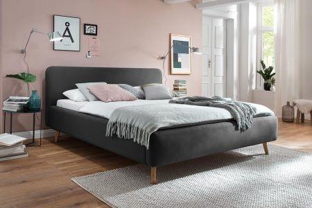 Upholstered bed - Mattis