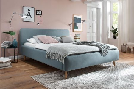 Upholstered bed 140x200 - Mattis