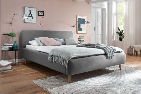 Polsterēta gulta 160x200 - Mattis